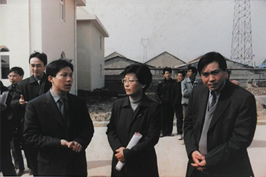 On February 20, 2001, Wang Jirong, then Deputy Director of the State Environmental Protection Administration, and his party inspected the company