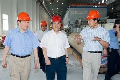 On May 25, 2007, Shi Wanpeng, then member of the Standing Committee of the Chinese People's Political Consultative Conference, deputy director of the Economic Committee, and president of the China Packaging Federation, and his party visited the company.